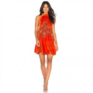 Free People Jills Sequin Swing Dress