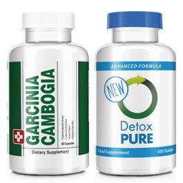 Garcinia Cambogia & Detox Combo Detox & Cleanse