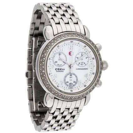 Michele Diamond CSX Watch Mother of Pearl Dial