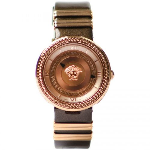Versace Watches Women's V Icon Strap Watch