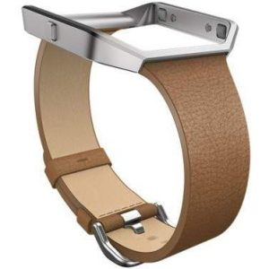 Fitbit 'Blaze' Slim Leather Accessory Band & Frame