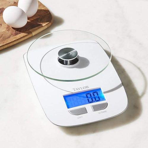 Taylor ® Glass Platform Digital Kitchen Scale