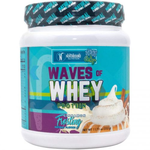 12-Serving Cinnamon Frosting Waves of Whey Protein Powder