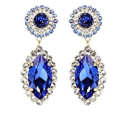 Auskarai Dolce & Gabbana Crystal-embellished