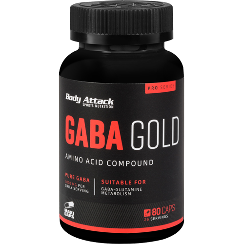 HGH skatintojas Body Attack GABA Gold