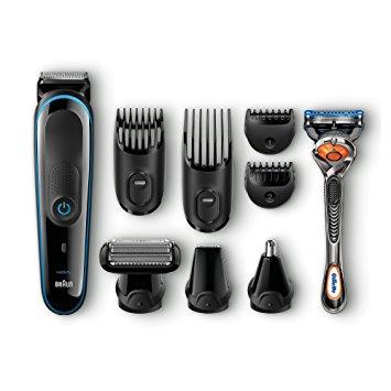 Plaukų ir barzdos kirpimo mašinėlė Braun MGK3080