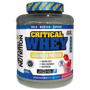 Proteinas CRITICAL Whey 2270g
