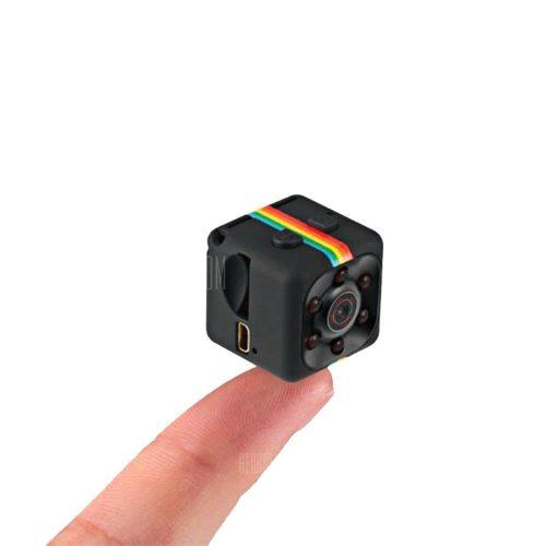 Quelima SQ11 Mini Kamera 1080P HD DVR - BLACK