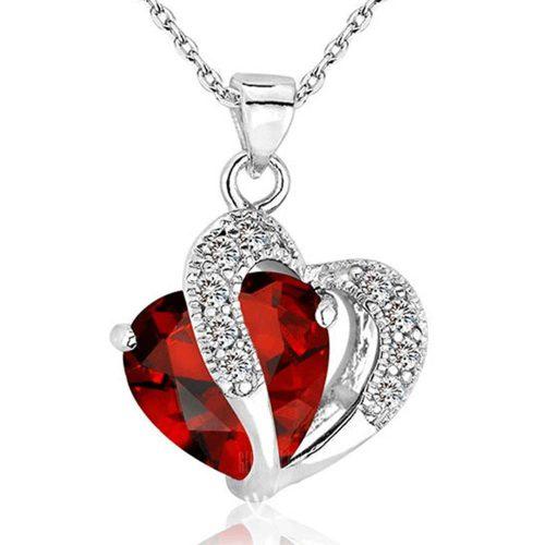 Kaklo Papuošalas Stylish Heart Shaped