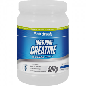 Body Attack 100% Pure Creatine