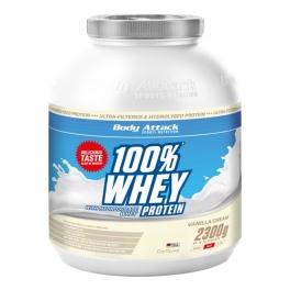 Body Attack Whey 100 % proteinas