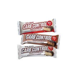 Carb Control baltyminis batonelis 100g.