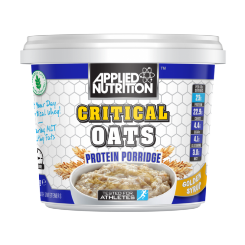 CRITICAL OATS 60g su baltymais