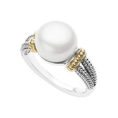 LAGOS Luna Pearl Ring ziedas