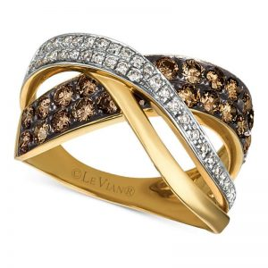 Le Vian Chocolatier Diamond Crisscross Ring