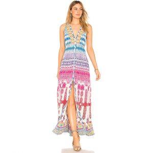 ROCOCO SAND Zoe Maxi Dress suknele