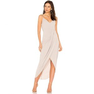 Shona Joy Cocktail Draped Dress suknele
