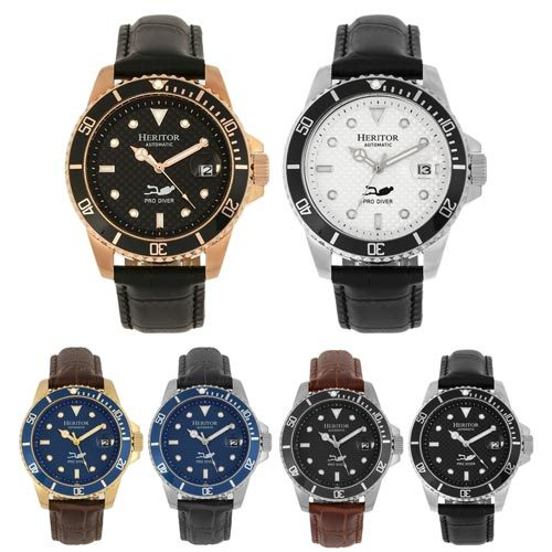 Heritor Automatic Lucius Automatic Belt Watch