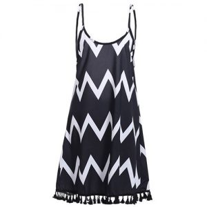 Zig Zag Beach Dress